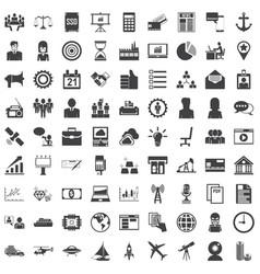 Universal icon set 81 icons vector