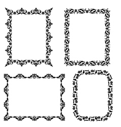 Set frame vector image