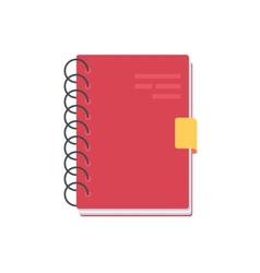 Notebook Notepad vector image