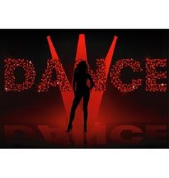 Dance wallpaper vector