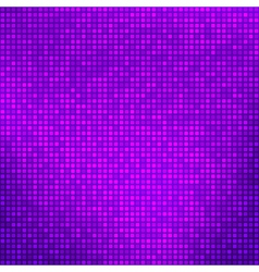 Abstract purple background with tiny squares vector