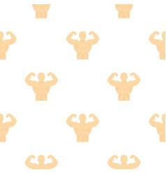 athlete pattern flat vector image