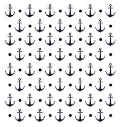 background anchor nautical design vector image