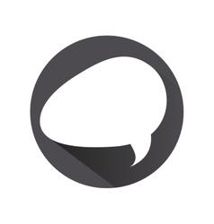 Conversation bubble icon vector