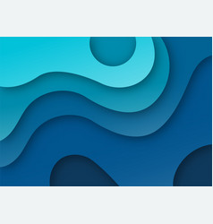 cover template a4 banners with 3d abstract vector image