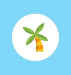 palm icon sign symbol vector image