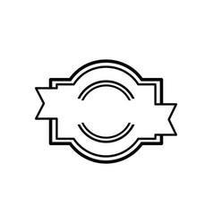 vintage retro blank labels logo vector image