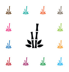 isolated bamboo icon cane element can be vector image