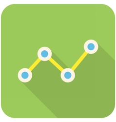 Data analysis icon vector image vector image