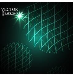 Global Digital mesh network eps10 vector image vector image