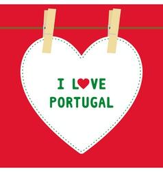 I lOVE PORTUGAL5 vector image