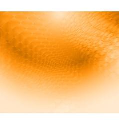 ornate background Design wave gold vector image