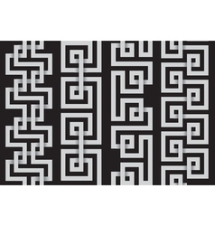 set of lines for making seamless patterns vector image vector image