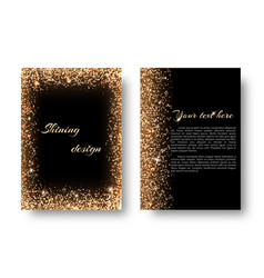 Bling background with light burst vector