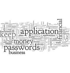 Business professionals applications vector