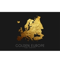 India map Golden India logo Creative India logo vector image