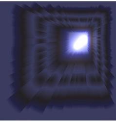 See burst light on dark background vector