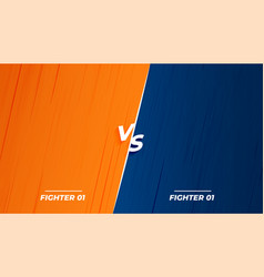 Versus vs fight battle background screen design vector