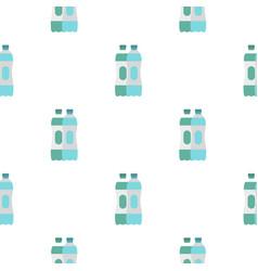 Water bottle pattern flat vector