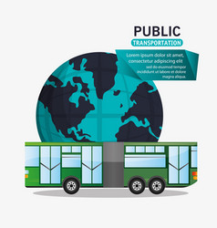 Bus passenger public transport world vector