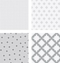 grey flower backgrounds vector image