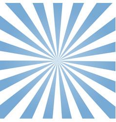 blue ray retro background stylish vector image