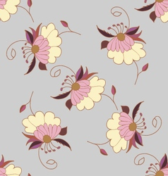Cute pastel seamless pattern vector