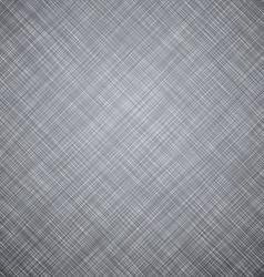 Grey linen texture vector