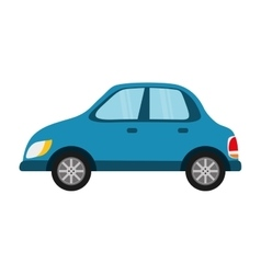 Isolated car symbol vector