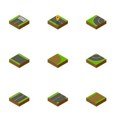 Isometric road set of plane without strip vector