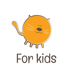 Kids funny toy symbol vector