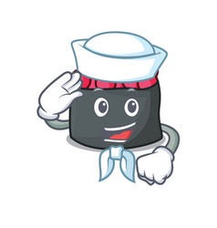 sailor ikura character cartoon style vector image