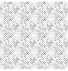 Seamless dark grey abstract square pattern vector