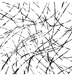 Texture grunge chaos vector