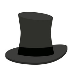 magician hat symbol vector image
