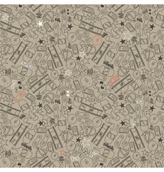 seamless texture in grunge style vector image vector image