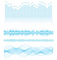 equalizer type vector image vector image