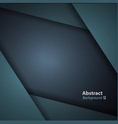 dark green turquoise modern background vector image vector image