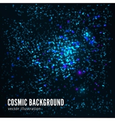 Abstract cosmic background vector image vector image