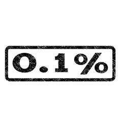 01 percent watermark stamp vector