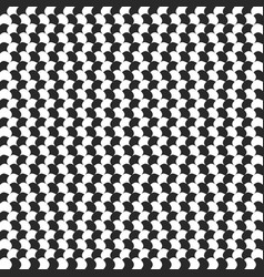 Abstract checkered background with distortion vector