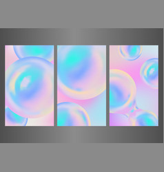 abstract wallpaper design with rainbow balloons vector image