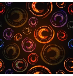 Colorful abstract background lights circle vector image