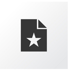 favorite icon symbol premium quality isolated vector image