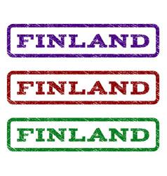Finland watermark stamp vector