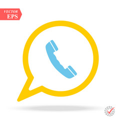 friendly discussing messaging on smartphone vector image