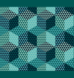 geometry motif in luxury style seamless pattern vector image