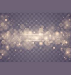 light abstract bokeh vector image
