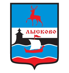 Lyskovo Coat-of-Arms vector