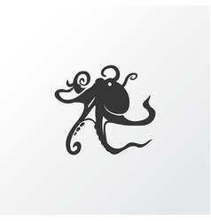 octopus icon symbol premium quality isolated vector image
